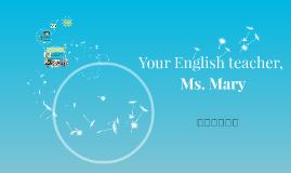 Your English teacher,