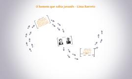 O homem que sabia javanês - Lima Barreto