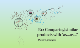 "B12 Comparing similar products with ""as...as..."""