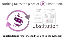 Copy of Substitution