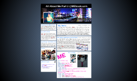 All About Me Part 2 @MEbook