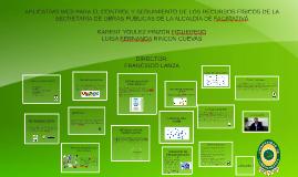 Copy of APLICATIVO WEB PARA EL CONTROL Y SEGUIMIENTO DE LOS RECURSOS