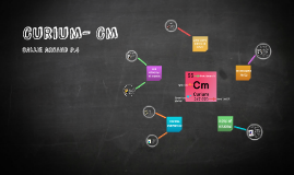 Copy of Curium- cM
