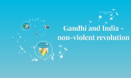 Gandhi and India -