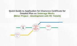 Quick Guide to Application for Clearance Certificate for Det