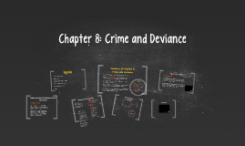 Chapter 8: Crime and Deviance