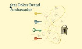 Star Poker Brand Ambassador