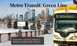 Metro Transit: Green Line