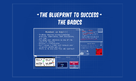 -The blueprint to success -           the basics