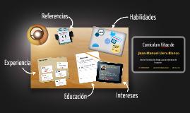 Desktop Prezumé de Juan Manuel Llera