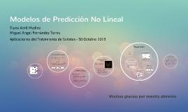 Modelos de Predicción No Lineales