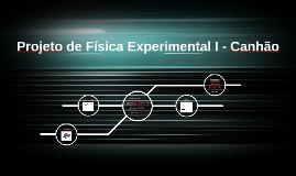 Projeto de Física Experimental I - Canhão