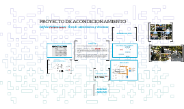 Copy of PROYECTO DE ACONDICIONAMIENTO