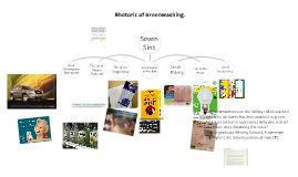 Copy of Rhetoric of Greenwashing