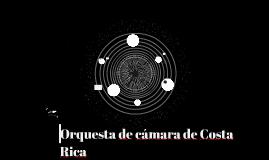 Orquesta de cámara de Costa Rica