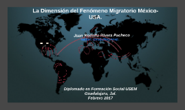 La Dimensión del Fenómeno Migratorio