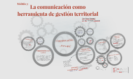La comunicación como herramienta de gestión territorial