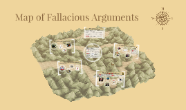 Map of Fallacious Arguments