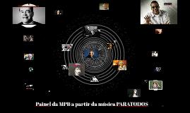 Painel da MPB a partir da música PARATODOS