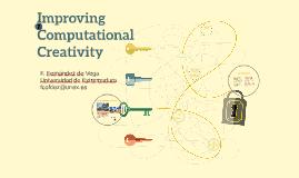 Improving Computational Creativity