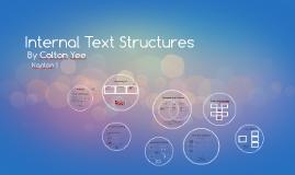 Internal Text Structures