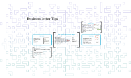 Business letter Tips