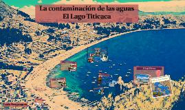 La contaminación de las aguas