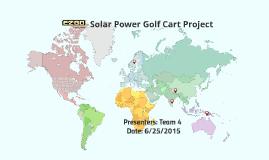 EZGO Golf Cart---Final presentation