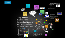 Class 2 503 Early Number Concepts & Developing meaning for the operations