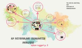 AP Psychology Character Analysis