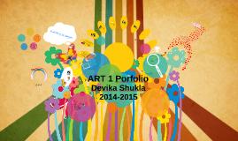 Art 1 portfolio