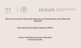 CEVIE-DGESPE
