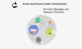 Acids and bases under examination