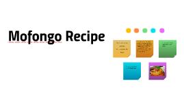 Mofongo Recipi