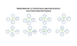 Principios de la excelencia organizacional