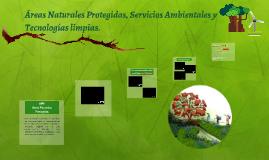 Áreas Naturales Protegidas, Servicios Ambientales y Tecnolog