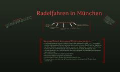 Radelfahren in München