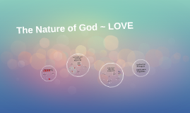 The Nature of God ~ LOVE