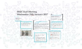 SMSC Staff Meeting