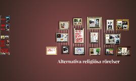 Alternativa religiösa rörelser