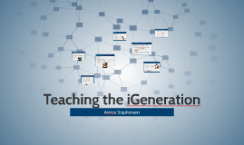 Teaching the iGeneration