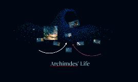Archimdes' Life