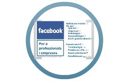 Facebook per empreses i professionals