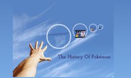 The History Of Pokémon
