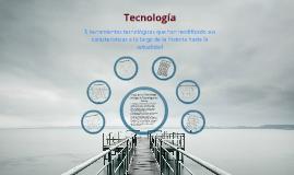 Copy of Comparación tecnología antigua y moderna