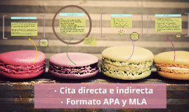 Copy of Cita directa e indirecta