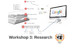 Copy of Workshop 3: Research