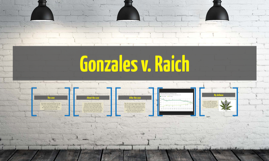 gonzales v raich 2007] gonzales v raich 523 the four factor test governing when regulated  activity substantially affects interstate commerce as set out by the supreme court .