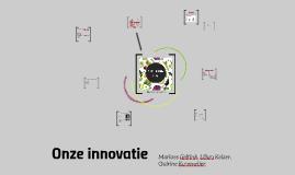 Onze innovatie