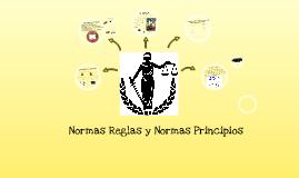 Normas Reglas y Normas Principios